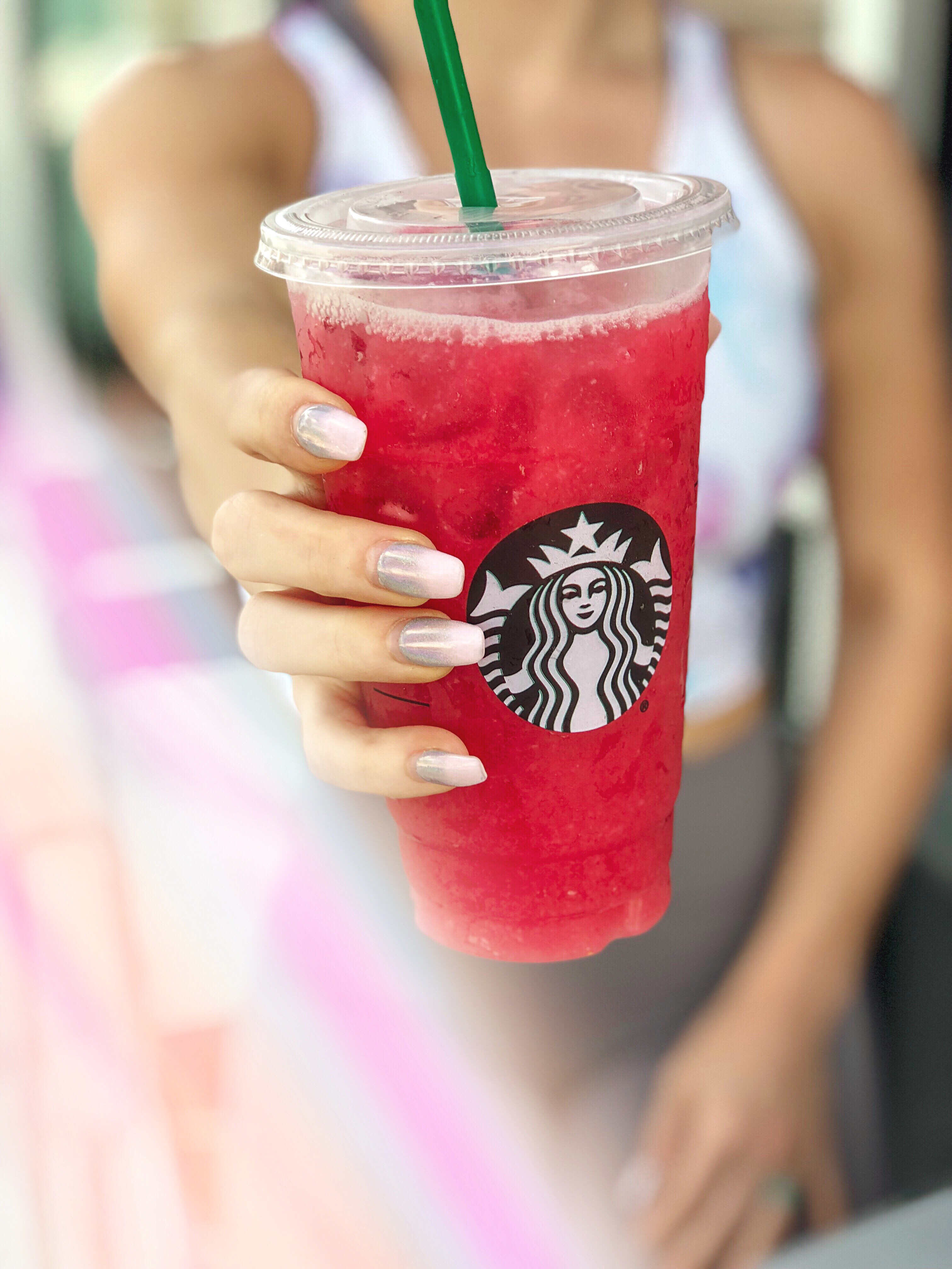 My Fave Low Carb Pink Drink From Starbucks Gift Card