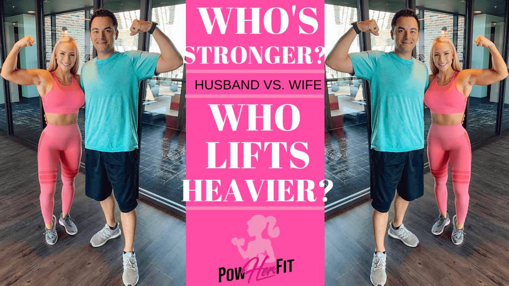 Am I Physically Stronger Than My Husband??? - Randa Carrabba